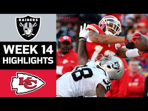 Video: Raiders vs. Chiefs | NFL Week 14 Game Highlights