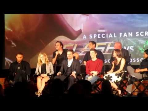 Arrow and The Flash - Details about Crossover + Screening Q&A *Updated with all parts*