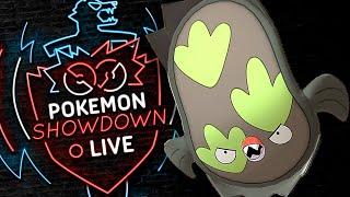 Enter STUNFISK! Pokemon Sword and Shield! Galarian Stunfisk Pokemon Showdown Live! by PokeaimMD
