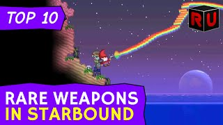 To celebrate the Starbound combat update release here are the game's 10 best rare weapons - old and new! Subscribe for more ...
