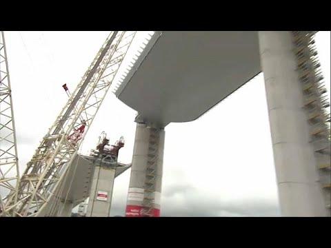 Ιταλία: Έτοιμη η νέα γέφυρα της Γένοβα