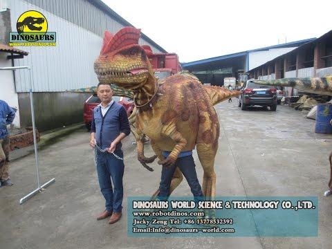 Hot Sale Animatronic Walking Dinosaur Costume/Walking Dinosaur Puppet/Walking Dinosaur Suit