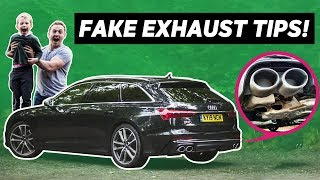 4-Year-Old Reviews The Audi S6 (Yes, The One With The Fake Exhaust Tips) by Car Throttle
