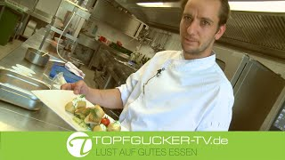 Dillgurken mit kross gebratenem Zander und Ofenkartoffeln | Rezeptempfehlung Topfgucker-TV
