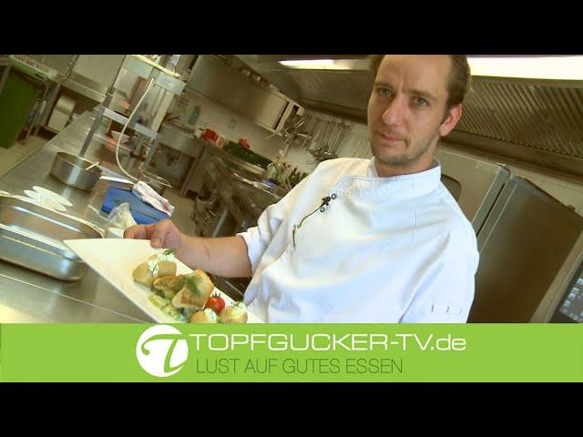 Dillgurken mit kross gebratenem Zander und Ofenkartoffeln   Rezeptempfehlung Topfgucker-TV