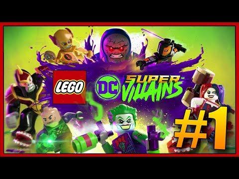 NEJLEPŠÍ LEGO HRA CO JSEM KDY HRÁL!😱😍 - Lego DC Super Vallains #1