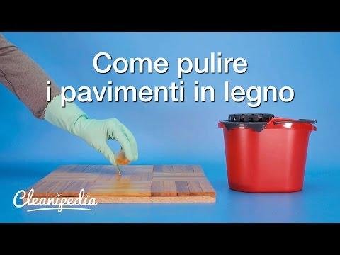 come pulire il pavimento di legno in modo efficace