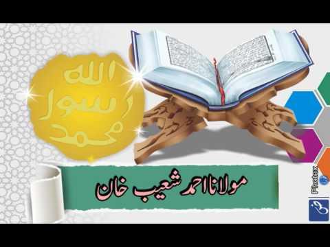 Allama Ahmad Shoaib Khan @ shan e sahaba