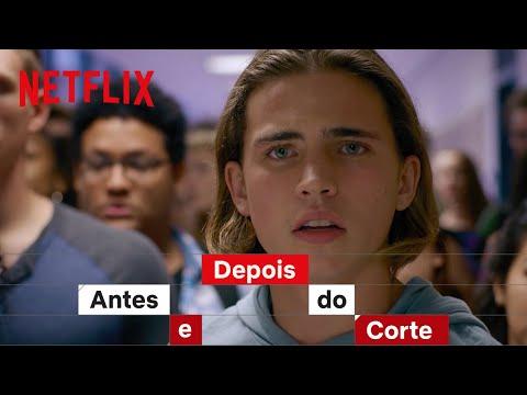 Como foi filmada a briga no colégio de Cobra Kai | Netflix Brasil