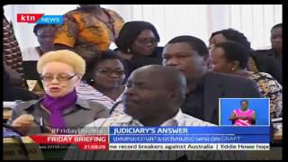 Friday Briefing:Judiciary defends itself over President's allegation of a corrupt Judiciary,21/10/16