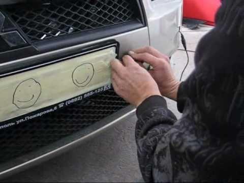 Видео — установка парктроника