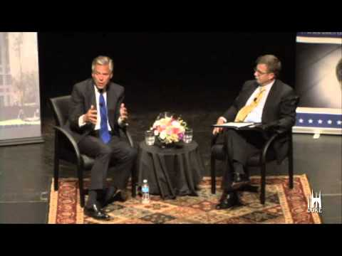 jon huntsman - Gov. Jon Huntsman Jr. discusses America's role in the world with Duke University Political Science Professor Peter Feaver. The talk, 