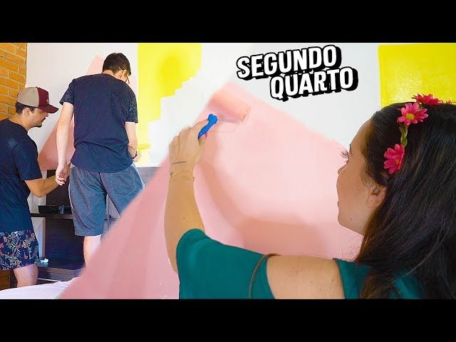 DIÁRIO DA REFORMA#4 - PAREDE GEOMÉTRICA - Taciele Alcolea