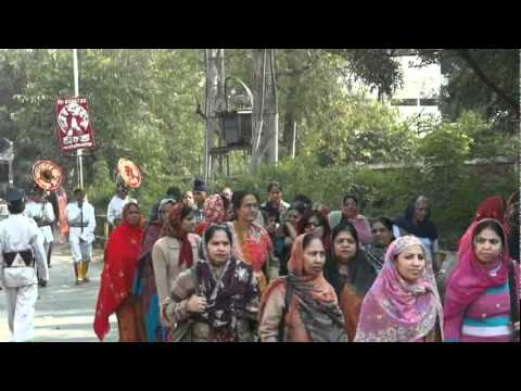 Procession Organized on the EVE of Prakash Parv