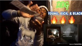 DDG - Young, Rich & Black REACTION