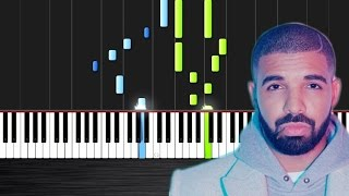 Drake - Hotline Bling - Piano Cover/Tutorial  Ноты и М�Д� (MIDI) можем выслать Вам (Sheet music for