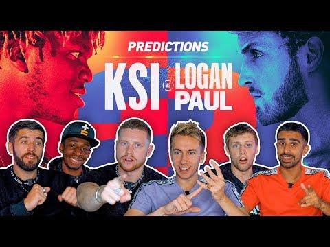 SIDEMEN PREDICT KSI VS LOGAN PAUL