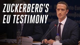 Download Video Zuckerberg's EU testimony: what he didn't answer MP3 3GP MP4