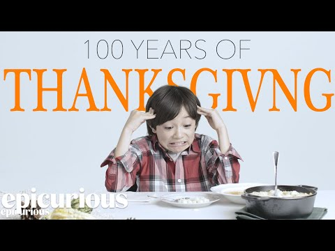 Kids Try 100 Years of Thanksgiving Sides Dishes