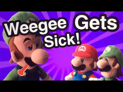 AwesomeMarioBros - Weegee Gets Sick!
