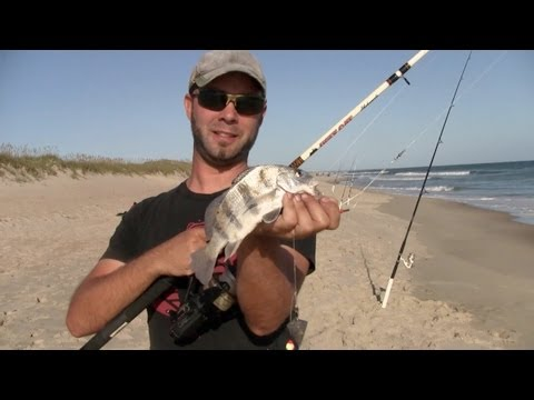 Surf Fishing Hatteras, NC – Fall 2012