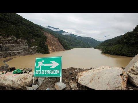 Κολομβία: Φράγμα κινδυνεύει να σπάσει – Εκκενώνεται οικισμός…