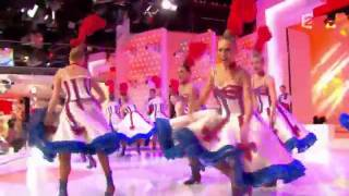 Download Lagu Moulin Rouge Can Can on French TV Mp3