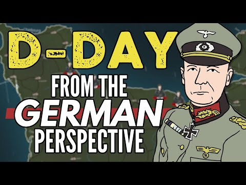 What was D-Day like for the Germans?