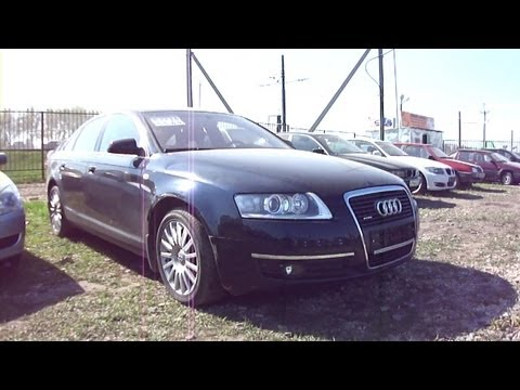 2006 Audi A6. Start Up, Engine, and In Depth Tour.