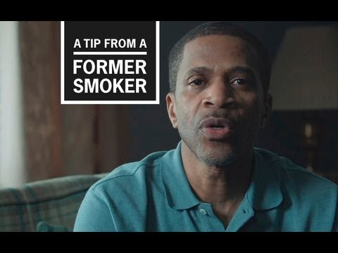 Roosevelt never thought that at 45-years-old he would have a heart attack due to his smoking. In this TV ad, from CDC's Tips From Former Smokers campaign, he talks about the impact his smoking-related heart attack has had on his life.