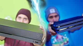 Xbox One X vs PS4 Pro!