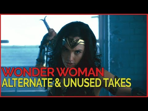 Wonder Woman - Alternate & Unused Takes