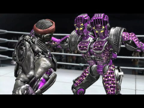REAL STEEL THE VIDEO GAME - ATOM vs TWIN SITIES (ONE COLOR)