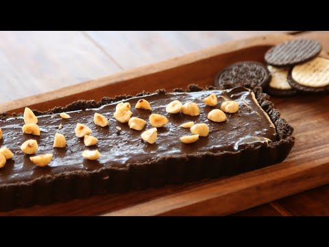 Oreo and Hazelnut Tart | No Bake Dessert Recipe | Beat Batter Bake With Priyanka