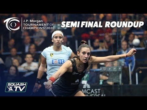 Squash: J.P. Morgan Tournament of Champions 2020 - Women's Semi Final Roundup