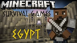Minecraft PC - Egypt Hunger Games - The Lone Wolf