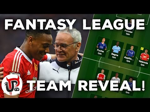 FANTASY LEAGUE TEAM REVEAL WITH MARTIAL AND VALENCIA! | £25K PRIZE