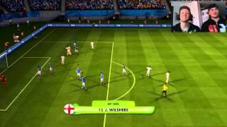 """Video FIFA 2014 World Cup gameplay 1° ITA """"Il nostro mondiale ha inizio! Italia-Inghilterra!"""" HD 720p MP3, 3GP, MP4, WEBM, AVI, FLV Desember 2017"""