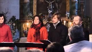 Video Singtet na benefičním koncertu v kostele sv. Václava III.