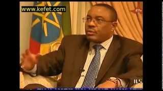 ETV News PM Hailemariam Desalegn Responds To Egyptian