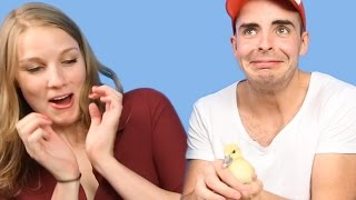People With A Fear Of Birds Get Surprised With Ducklings