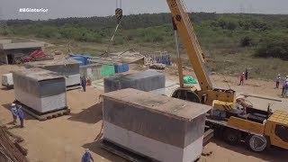 Máquinas chegam e obras na Estação de Tratamento de Esgoto de Bauru são retomadas