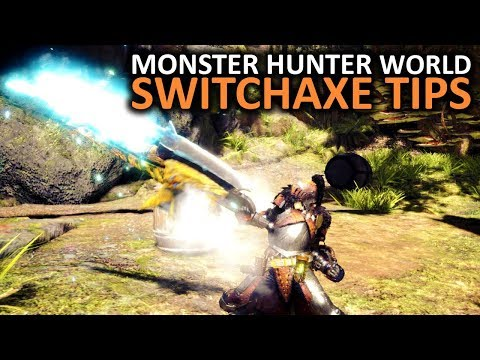 Monster Hunter World Switch Axe Tips