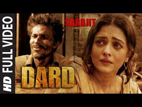 Dard Full Video Song | SARBJIT | Randeep Hooda, Aishwarya Rai Bachchan | Sonu Nigam | T-Series