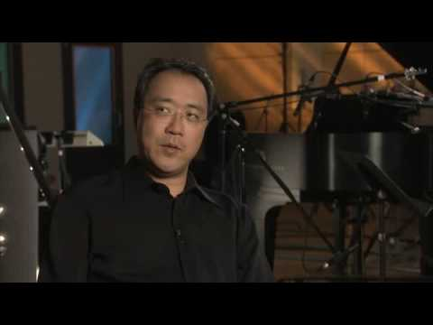 Yo-Yo Ma discusses recording of Dave's composition
