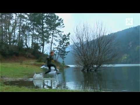 Běh po vodě = nálož adrenalinu