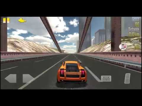 Video of Highway Racer vs Police Cars
