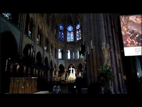 Interior de la Catedral de NotreDame