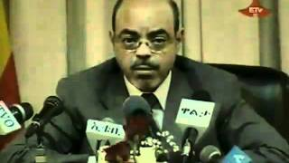 PM Meles Zenawi Press Conference On Current Events In Ethiopia.mp4