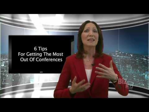 Toronto Keynote Speaker, Nina Spencer:  6 tips before conferences